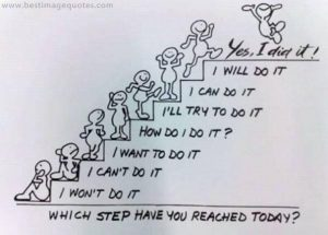 WHICH STEP HAVE YOU REACHED TODAY